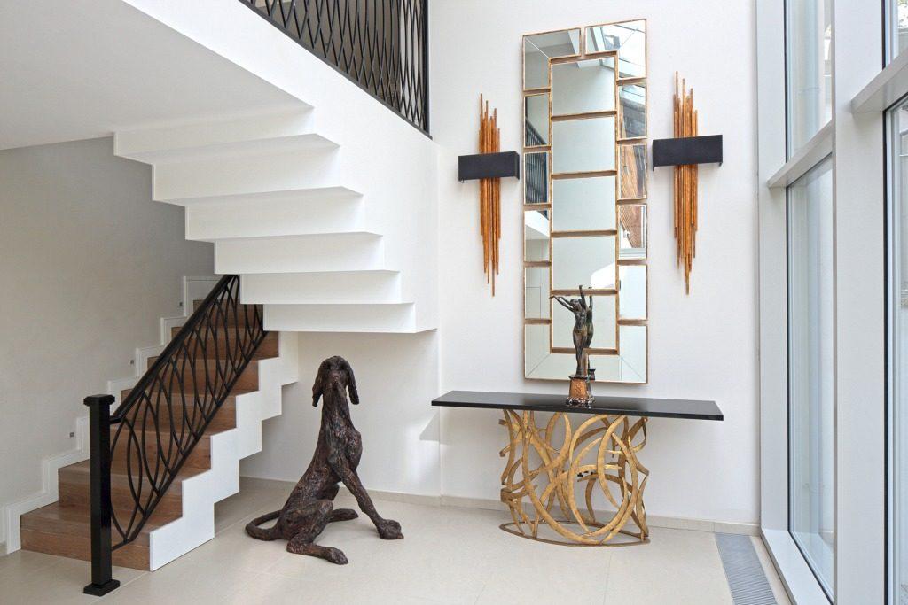 Espejos para el recibidor for Espejos largos modernos
