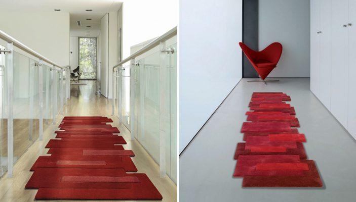 Alfombras para pasillos modernas